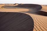 Dunes dans le désert central d'Iran
