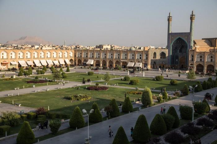 Place du Shah à Ispahan