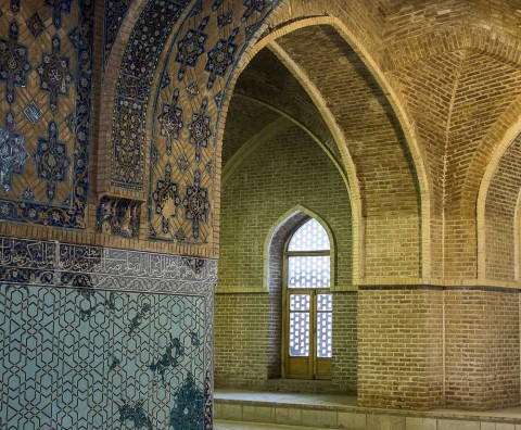 The Blue Moasque in Tabriz